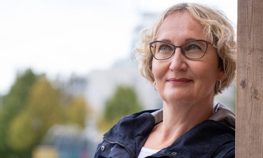 Kirsi Väisänen, blogikuva
